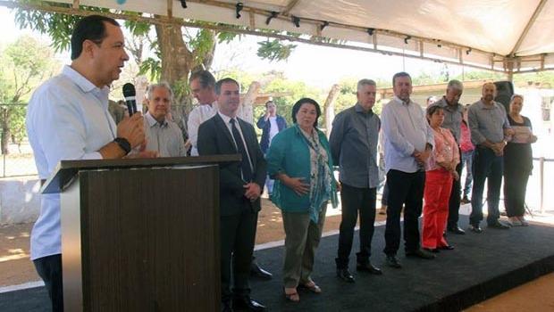 Presidente da Amab prestigia inauguração da obra do Balneário em Brazlândia