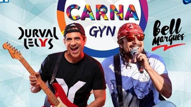 Carnaval fora de época volta a Goiânia com Durval Lelys e Bell Marques