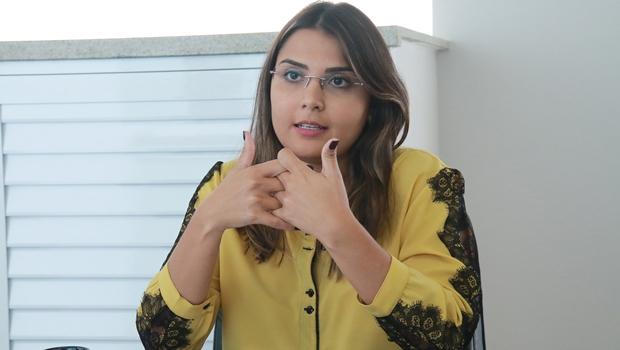 Sabrina Garcez pode romper com o PMB para apoiar José Eliton para governador