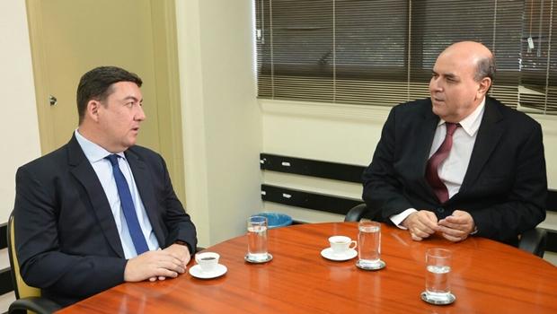 José Vitti discute integração da Assembleia com Ministério Público