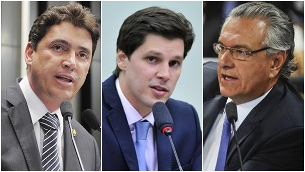 Daniel Vilela e Ronaldo Caiado vão disputar a tapa o passe político do senador Wilder Morais