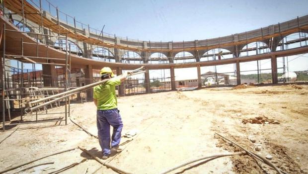 Em fase final, obra do Credeq de Goianésia alcança 75% de execução