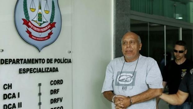 Preso na Papuda, líder da máfia dos concursos  presta depoimento em Goiânia