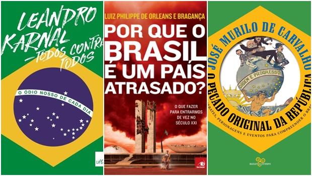 3 visões diferentes sobre a crise brasileira em livros