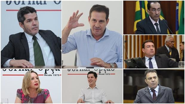 11 políticos que já se preparam para suceder Iris Rezende