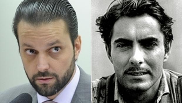 Repórteres de Brasília dizem que Alexandre Baldy tem a pinta do ator Tyrone Power