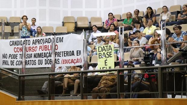 Servidores da Educação denunciam mais de 40 obras paradas em Goiânia