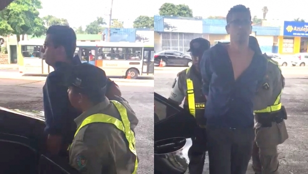 Veja o vídeo da detenção de vereador de Goiânia após abordagem policial