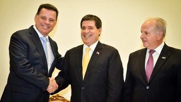 Marconi e presidente do Paraguai defendem aprofundamento de parceria comercial