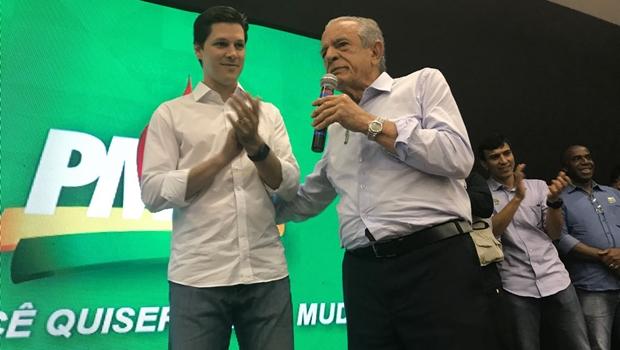 Em encontro do PMDB, Iris declara apoio à pré-candidatura de Daniel Vilela