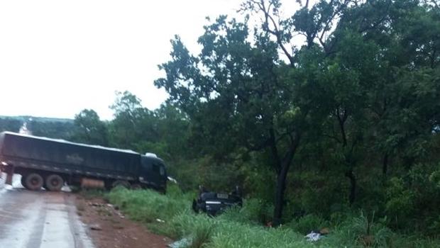 Quatro morrem em estradas federais de Goiás no feriado de Natal