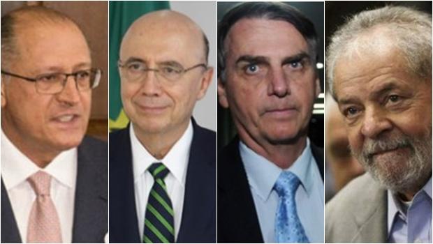 Oeleitor tende a escolher Alckmin, Meirelles, Bolsonaro ou Lula