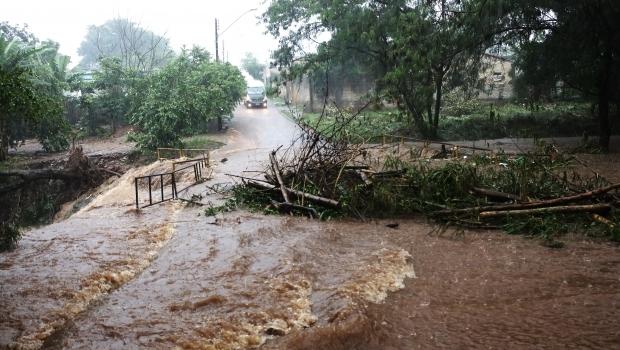 Segunda-feira com previsão de chuvas fortes em Goiás