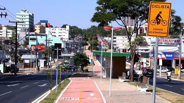 Ciclovia: projeto do ex-prefeito Paulo Garcia parou na gestão Iris   Foto: Fernando Leite / Jornal Opção