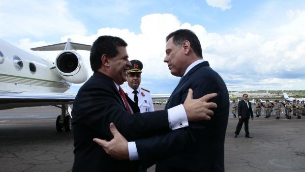 Presidente do Paraguai afirma que Marconi é líder dos Estados em crescimento no Brasil