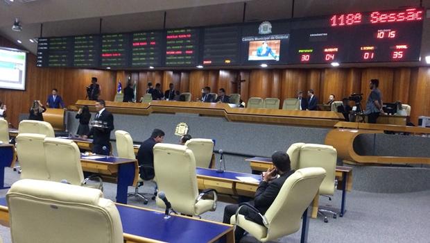 Câmara de Goiânia adianta recesso parlamentar em uma semana