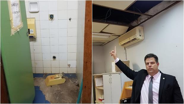 Vereador denuncia situação precária na sede da Vigilância Sanitária em Goiânia