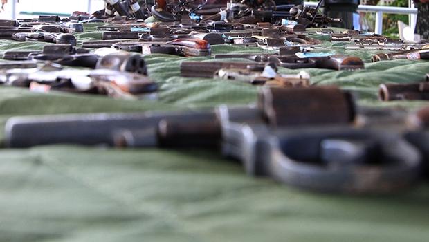 Justiça de Goiás deverá encaminhar armas apreendidas para serem destruídas