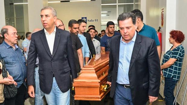 """Na despedida de Isanulfo, Marconi afirma que Goiás perde um """"mestre do jornalismo"""""""