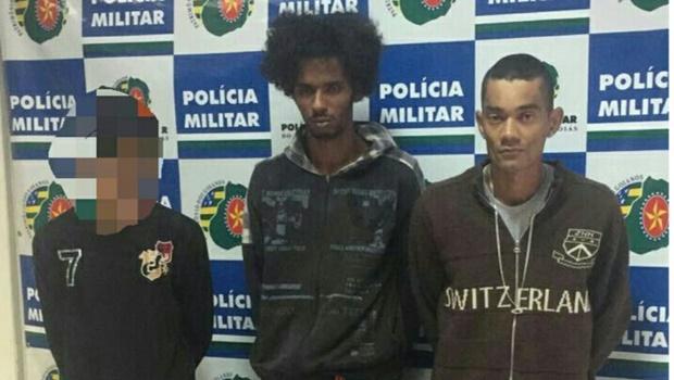 PM prende trio que roubou fazenda e estuprou moradora