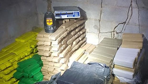 Em primeiro dia de operação, PM apreende mais de 730 kg de drogas
