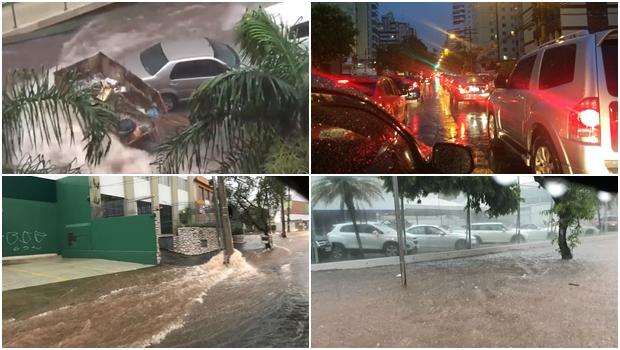 Meteorologia prevê mais chuvas fortes em Goiânia nos próximos dias