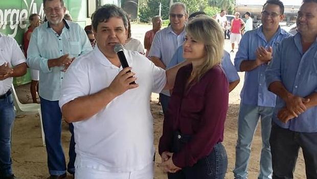 George Morais nega candidatura e diz que Flávia Morais disputará reeleição