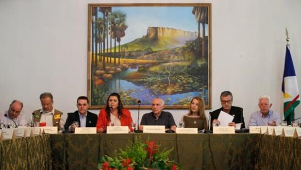 Em Roraima, Temer anuncia grupo para tratar da crise migratória dos venezuelanos