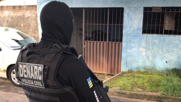 Polícia prende sete e desmantela quadrilha interestadual de tráfico de drogas