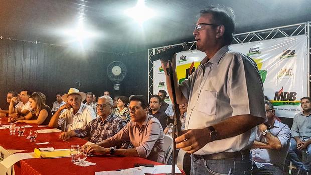 MDB define pela reeleição de Marcelo Miranda e conversa até com Siqueira