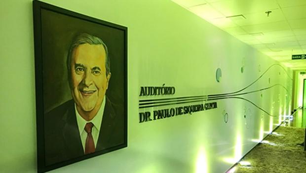 Unimed Goiânia inaugura auditório em homenagem a Paulo Garcia