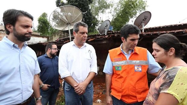 Baldy viabiliza verba federal para Ceres após enchente atingir cidade
