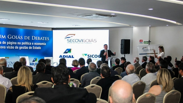 Em Fórum de debate político e econômico, Marconi defende projeto ousado para o país