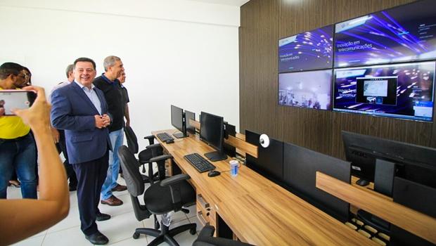 Marconi e Zé Eliton inauguram Goiás Telecom e Centro Tecnológico da Codego em Goianira