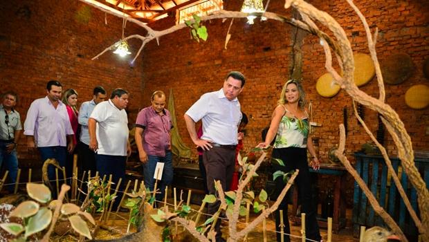 Marconi entrega obras e destaca tesouro arqueológico de Serranópolis