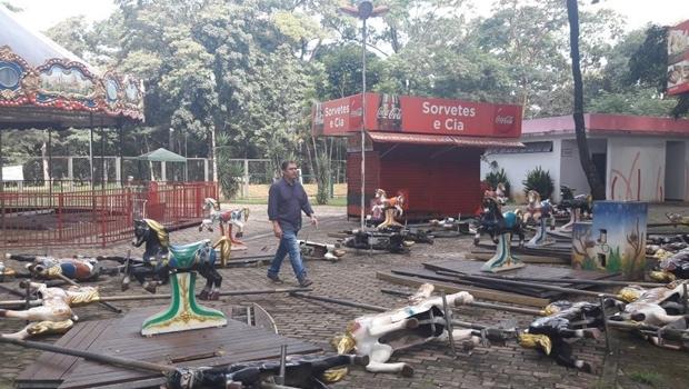 Vereadores de Goiânia propõem privatização do Parque Mutirama