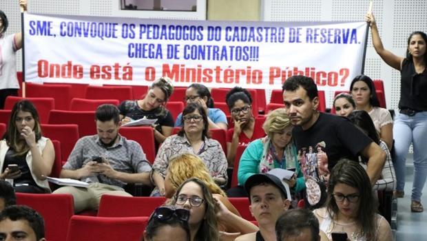 MP estabelece prazo para gestão Iris convocar profissionais da Educação