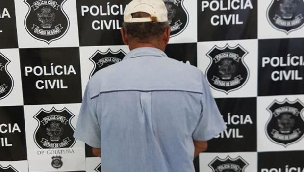Idoso é preso em Goiás por estuprar irmãs entre 6 e 13 anos