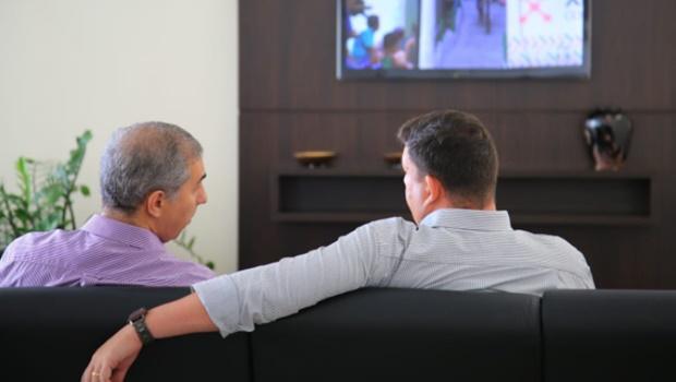 Em reunião privada, Zé Eliton e José Vitti traçam estratégias para início de gestão