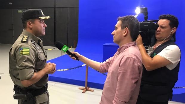 Comandante do Policiamento da capital elogia estrutura da nova TBC