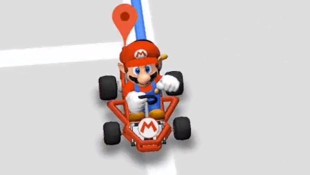 Mario Kart invade Google Maps até o próximo sábado (17). Saiba como usar