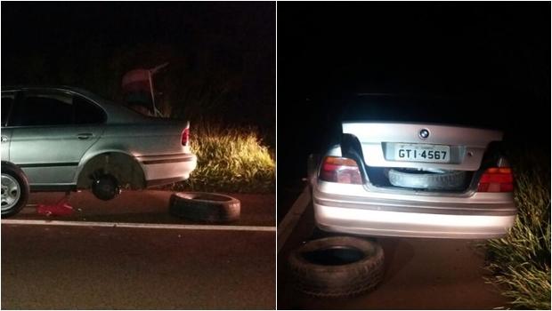 Idoso morre atropelado em Goiás ao tentar trocar pneu furado