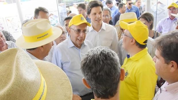 Na Tecnoshow, Meirelles defende candidatura de Daniel Vilela ao governo de Goiás