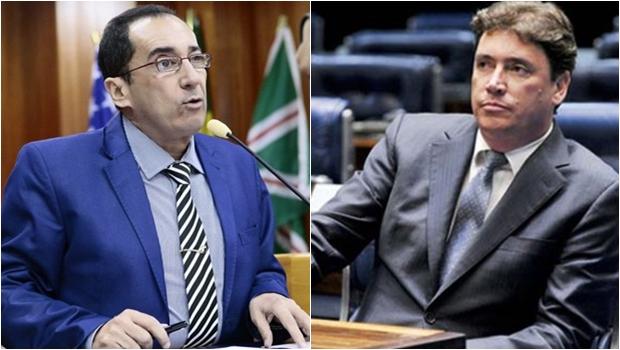 Chapa de Ronaldo Caiado terá Jorge Kajuru e Wilder Morais para senador
