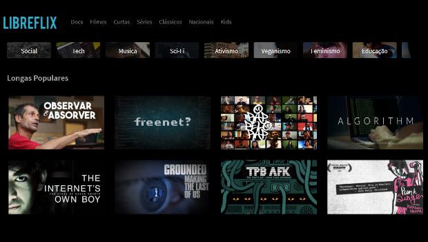 Plataforma de streaming brasileira oferece conteúdo 100% legalizado e gratuito