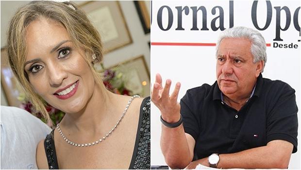 Luana Baldy e Vilmar Rocha disputam primeira suplência de Marconi Perillo