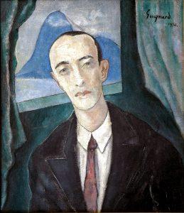 Murilo Mendes retratado por Guignard, 1930
