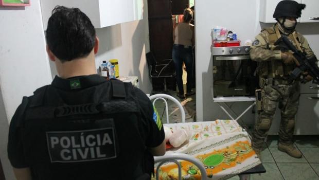 PC deflagra operação contra quadrilha especializada em roubos, tráfico e fraudes bancárias
