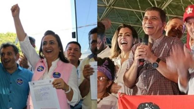 Escolhidos em convenções registram candidaturas para disputa da eleição suplementar