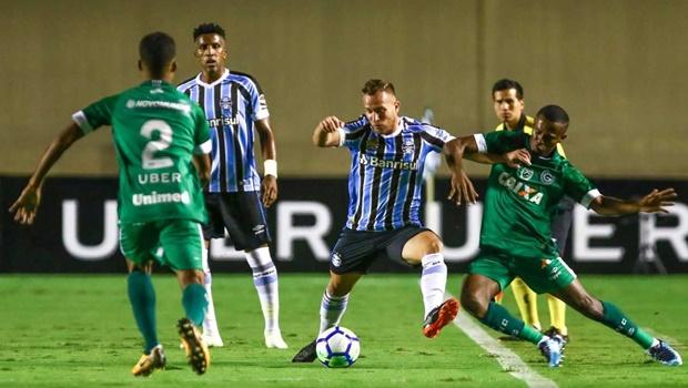 Políticos goianos assistem à derrota do Goiás contra o Grêmio